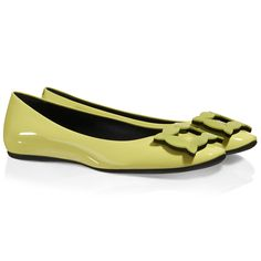 Gommette Biscuit Ballerinas in Patent Leather
