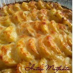 Hatice Mutfakta: Fırında Kremalı Patates
