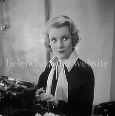 Helen as Joan Garland in 'Radio Parade of (British International Pictures, released December My collection. Helen Chandler, December 12, Hollywood Actresses, Classic Hollywood, Garland, British, Pictures, Fictional Characters, Collection