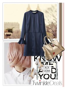 """""""TwinkleDeals 2"""" by k-lole ❤ liked on Polyvore featuring Chanel, RoyalBlue, winterfashion and winteressentials"""