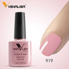 #61508 Venalisa Оптовая UV LED Ногтей Гель 7.5 мл Гель Для Ногтей