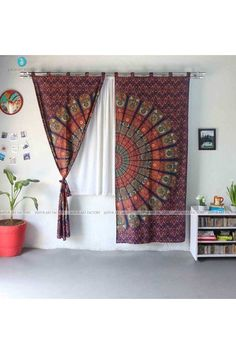 Surprising 23 Best Mandala Curtains Images In 2019 Mandala Curtains Interior Design Ideas Inamawefileorg