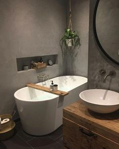 Best Small Bathroom Sink Design Ideas - Best Home Remodel Bathroom Spa, Bathroom Toilets, Bathroom Wall Decor, Bathroom Cleaning, Bathroom Interior Design, Small Bathroom, Bad Inspiration, Bathroom Inspiration, Home Remodeling