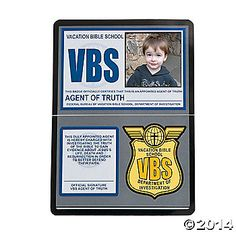 Agents of Truth VBS Photo Cards