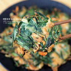 백종원 부추전 맛있게 만드는법 바삭바삭 완전 맛있어! – 레시피 | 다음 요리