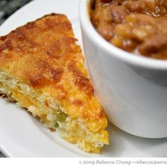Cheesy Mexican Cornbread Mexican Corn Casserole 1 box Jiffy 1 can cream corn 1 can mexicorn, 1/2 cup jarred jalapeños diced, drained 2 eggs 1 stick butter, melted, 1 cup shredded cheddar cheese, 1 Cup Sour cream Mix all together in casserole adding the sour cream last. Bake in 350 oven for 45 minutes.
