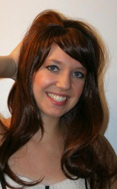 Stacy Wig female beauty salon quality TV performance long synthetic hair fashion #Viva #FullWig