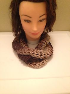 Adult Infinity Scarf Available $25.00, email homemadehatsandmore@gmail.com