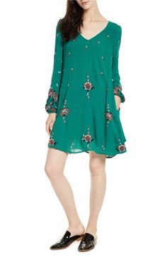 Main Image - Free People Embroidered Minidress