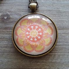 New flower pendant