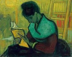 Vincent van Gogh - The Novel Reader, Arles 1888