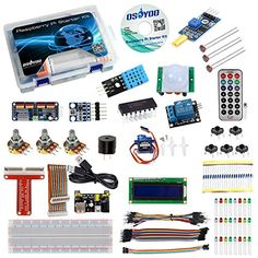 OSOYOO Raspberry Pi 3 Starter Kit DIY Electronic RPi Learning Kit for Beginner Display pca9685 with C/Python code and video tutorial #OSOYOO #Raspberry #Starter #Electronic #Learning #Beginner #Display #with #C/Python #code #video #tutorial