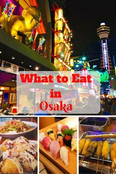 Check out all the delicious things to eat from Japan's kitchen. #japan #osaka #takoyaki