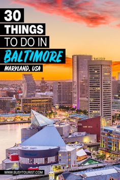 Baltimore Attractions, Cool Places To Visit, Places To Travel, Road Trip Adventure, Senior Trip, Baltimore Maryland, Road Trip Usa, United States Travel, 50 States