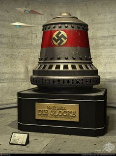 "✠ Die Glocke ✠ According to Patrick Kiger writing in National Geographic magazine, Die Glocke has become a popular subject of speculation and a following similar to science fiction fandom exists around it and other alleged Nazi ""miracle weapons"""