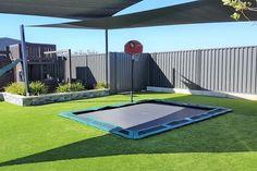 Bodentrampolin im Garten: Der Spielspaß ist garantiert!
