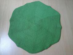 Dywan ze sznurka zielona koniczynka
