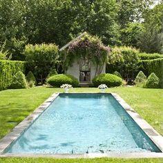 small backyard swimming pool ideas and design 14 Natural Swimming Pools, Swimming Pools Backyard, Swimming Pool Designs, Pool Landscaping, Lap Pools, Indoor Pools, Pool Spa, Backyard Pool Designs, Patio Design