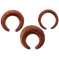Bloodwood Septum Crescent from Diablo Organics. More info: http://www.steelnavel.com/product.asp?ID=6810