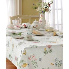 Lenox Butterfly Meadow Table Cloth - Overstock™ Shopping - Great Deals on Tablecloths