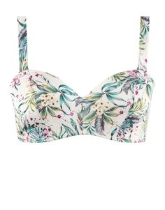 Floral Padded Non-wire Multiway Balconette Bra   Woolworths.co.za Balconette Bra, Lingerie Sleepwear, Halter Neck, Wire, Floral, Fashion, How To Make, Moda, Fashion Styles