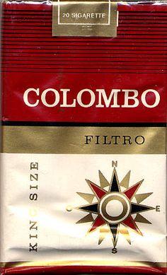 vintage cigarette pack