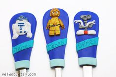 Lego Star wars utensil set Personalized Flatware by Velwoo on Etsy