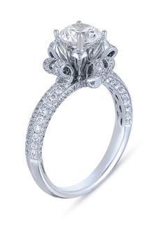 Vanna K Blog: Diamond Engagement Ring from Vanna K's Solea Collection