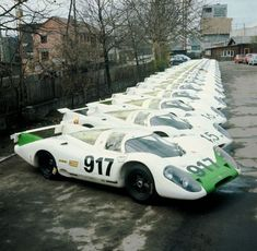Best Sports Cars   :   Illustration   Description   #Porsche #917 1969 – Porsche factory had to built minimum amount of cars before being accepted by the Race commitee.