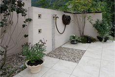 Backyard Projects, Backyard Ideas, Wishing Well, Clawfoot Bathtub, Fountain, Entrance, Brick, Laundry, Houses