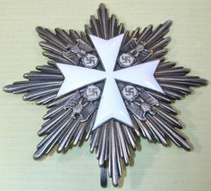 WWII Grand Cross of the Order of the German Eagle Breast Star.