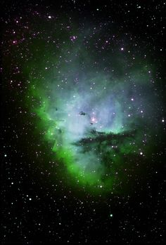 Pacman Nebula, Visit our Website for more Info and | http://exploringuniversecollections.blogspot.com