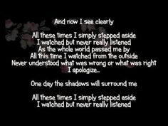 Ffdp I apologize Kinds Of Music, Music Is Life, Music Quotes, Words Quotes, Lyrics To Live By, Three Days Grace, Love Others, Songs To Sing, Song Lyrics