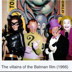 Batman Villains 1966