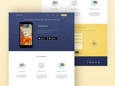 Just finished this landing page project. see attached file for 2x.  show some love by pressing