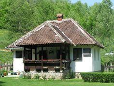 Serbian mountain house