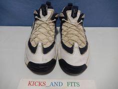 7900747baeb5a Vtg OG 1996 Nike Air Lambaste 2 Basketball Shoes Flight sz 10 130261-141  Rare