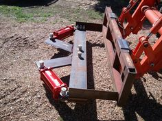 D-I-Y Projects Compact Tractor Attachments, Garden Tractor Attachments, Tractor Drawbar, Sub Compact Tractors, Tree Cutter, Tractor Accessories, Tractor Implements, Metal Working Tools, Farm Fence