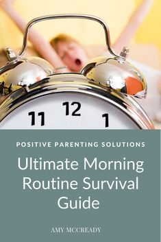 Are morning routines in your house already getting the best of you? Instead of nagging, reminding or yelling your way through the morning schedule, consider implementing these tips and tricks. This ultimate guide to morning mania will help make everyone's day much smoother! #parentingtips #pps #amymccready #morningroutine #momlife #dadlife #positiveparentingsolutions Positive Parenting Solutions, Parenting Advice, Kids And Parenting, Kids Moves, Morning Routines, Parent Resources, Survival Guide, Schedule, Positivity