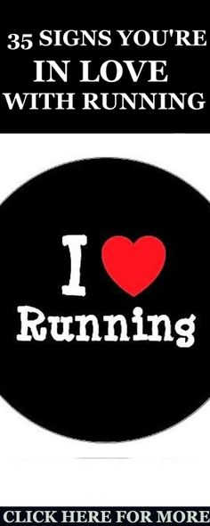 today I decided to share with you 36 of the best signs that you are totally in love with running. http://www.runnersblueprint.com/signs-youre-totally-love-running/ #Running #Fitness #Love