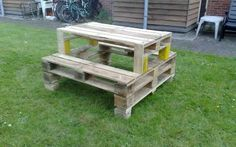 pallet furniture | Pallet Furniture 1600x1200 Pallets Picnic Table 1001 Pallets ~ Urumix ...