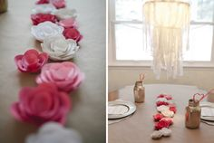 inspired by lovely   a collection of home, craft and design inspiration   Juliet Jones: a valentines lunch.