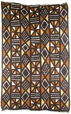 African Mud Cloth 43x62
