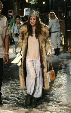 Sex and the city, Carrie Brandshaw in fur