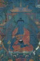 Thangka depicting the Medicine Buddha China/Tibet, early 19th Century