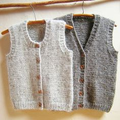 A classic vest for women, men, teens & kids. Calidez Vest is knit bottom up with. A classic vest for women, men, teens & kids. Calidez Vest is knit bottom up with. Knitting For Kids, Baby Knitting Patterns, Knitting Designs, Baby Pullover, Baby Cardigan, Kids Vest, Knit Vest Pattern, Crochet Pattern, Quick Knits