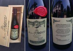 """Candidature créative : """"Appellation Etudiant Motivé"""", Simon Mahieu postule avec une belle bouteille de vin !"""