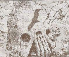 『風の谷のナウシカ』に登場する巨神兵、その初期登場シーンから『巨神兵東京に現わる』までの変化を追ってみました。 Comic Style Art, Studio Ghibli Art, Nautical Art, Map Design, Hayao Miyazaki, Sci Fi Art, Animation Film, Art Studios, Art Tutorials