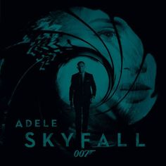 007 Skyfall unveiled the cover art for the single of Adele