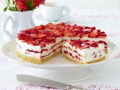 Kuchen ohne Backen – Cool Cakes! - erdbeer-philadelphia  Rezept